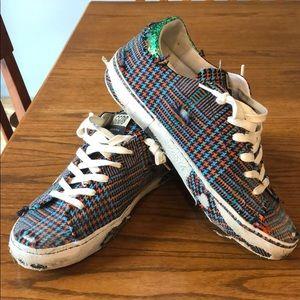 Golden Goose checkered Sneakers